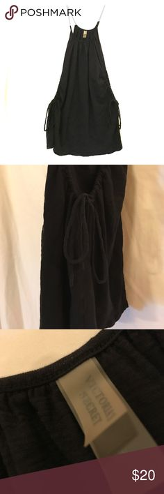 Victoria's Secret Coverup Awesome wide sleeved coverup with side drawstrings Victoria's Secret Swim Coverups