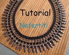 Tutorial Marika SuperDuo Necklace PDF by Lirigal on Etsy