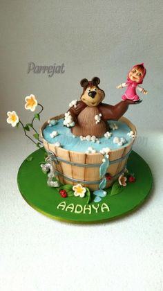 Masha the Bear cake Masha Bear Pinterest