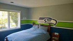 Design for Seahawk room