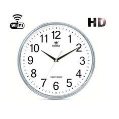 Cámara espía WIFI en reloj de pared