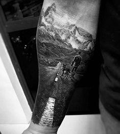 60 hiking tattoos for men - outdoor trek design ideas - nature tattoo - # for . - 60 hiking tattoos for men – outdoor trek design ideas – tattoo nature – - Trendy Tattoos, Popular Tattoos, Unique Tattoos, Small Tattoos, Tattoos For Guys, Tattoo For Man, Amazing 3d Tattoos, Sleeve Tattoos For Women, Tattoo Sleeve Designs