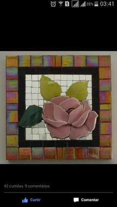 Mosaic Crafts, Mosaic Projects, Art Projects, Mosaic Wall Art, Mosaic Tiles, Tiling, Stone Mosaic, Mosaic Glass, Mosaic Flowers