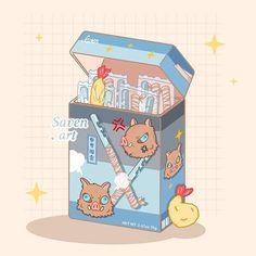 Cute Food Drawings, Cute Cartoon Drawings, Cute Kawaii Drawings, Cartoon Art Styles, Stickers Kawaii, Anime Stickers, Cute Stickers, Arte Do Kawaii, Kawaii Art