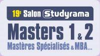 Salon Studyrama des Masters 1 et 2, MS & MBA de Paris
