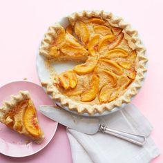 Grammy's Peach-Custard Pie..yum!