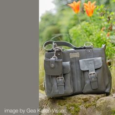 Girls Day Out Leather Camera Bag by SHUTTER bag