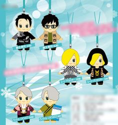 AmiAmi [Character & Hobby Shop] | Yuri on Ice - Strap x Costume Kewpie 6Pack BOX(Pre-order)