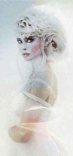 Snow fairy #fairymakeup