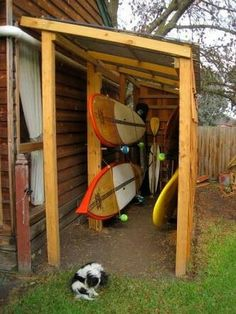Kayak Storage Saw This On A Paddling Forum Years Ago And Have Been Dreaming