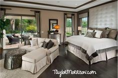 Master Bedroom in Verona, a Taylor Morrison community in Florida