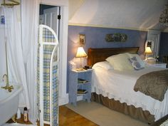 Guest room in a Minot ND b and b