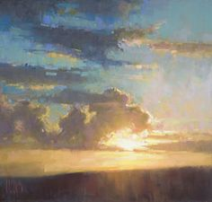 "Alain Picard, artist    ARISE AND SHINE pastel 12 x 11.5"""