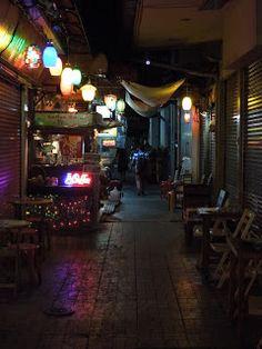 jedan od budžaka kod Khao San roada u Bangkoku. štekić par ekselans