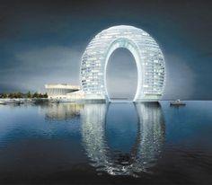 Amazing Architecture Around the World- Part 3 (10 Pics), Sheraton Hotel, Huzhou China.