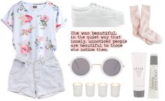 """Pale"" by child-of-the-tropics ❤ liked on Polyvore"