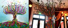 Sketch and Mural from Tantalo Hotel in Casco Viejo, Panama City, PTY.
