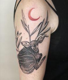 Flower Thigh Tattoos, Poland, Skull, Moon, Ink, Illustration, Instagram, Black, Animals