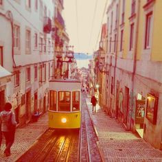 streetcar Lisbon   #having #good #time ##thankyou #obrigadodeus🙏 #rolling #tram #streetcar #lovely #yellow #climb #hills #climbing #fun #easygoing #holiday #takeiteasy #together