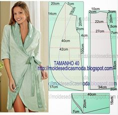 ROBE DO EASY - 4 ~ Templates Fashion by Measure