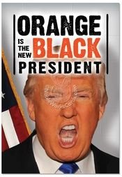"""Inside: Make Birthdays Great Again! Happy Birthday ---- Orange New Black President Birthday Funny Card by NobleWorks. It isn't easy being President. And it isn't easy being orange, either. """"Orange"""" you glad you have a great resource for funny political greeting cards, like the Orange New Black President Birthday Funny Card...   Read more: http://www.nobleworkscards.com/c3953bdg-orange-new-black-president-funny-birthday-card-nobleworks.html#ixzz4g91ViO5n"""