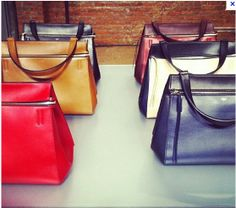 The Best Bags of New York Fashion Week -Celine edge bag | What I ...