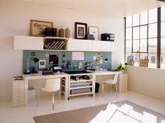 19 Best Dual Desks Images Home Office Design Home Home Decor