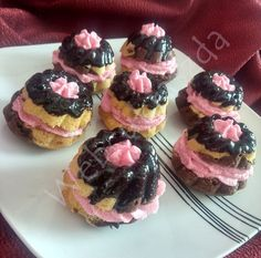 Dessert Cake Recipes, Food To Make, Muffins, Cheesecake, Deserts, Cupcakes, Sweets, Baking, Nail