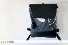 Laptop backpack by murmullo  www.murmullo.cl