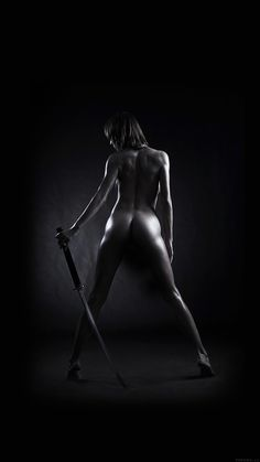 Get Wallpaper: http://bit.ly/1XBcXi8 ak04-girl-nude-sword-art-dark-black via http://iPhone6papers.com - Wallpapers for iPhone6 & plus