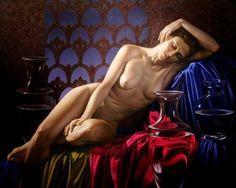 Por Amor al Arte: Miguel Avataneo pintor figurativo realista