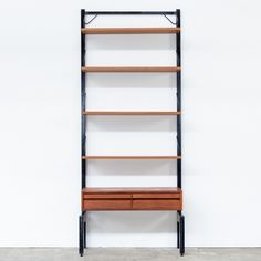 royal wall unit by poul cadovius for cado 1950s vintage design storage pinterest 1950s royals and walls