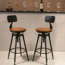 Find Great Deals For Uk Industrial Retro Rustic Urban Bar Stool 360 Swivel Cafe Counter Chair 220lb Sh Industrial Bar Stools Bar Stools Rustic Kitchen Chairs