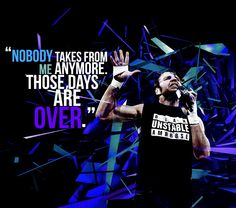 Don't get in his way! AND DON'T GET IN MY WAY... I WILL HAVE DEAN AMBROSE... ONE WAY OR ANOTHER<3<3<3<3<3<3<3