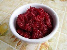 Syrovou řepu a jablka oloupeme, nastrouháme na jemném struhadle, přidáme najemno nastrouhaný křen, trochu vody, ochutíme solí, octem a cukrem.... Raspberry, Food And Drink, Fruit, Ideas, Raspberries, Thoughts