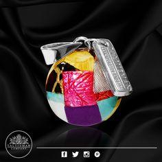 Llamador de Ángel - Tela Print de TALIIISMAN COMPANY®  ¡Contáctanos! 01800 2867967 www.facebook.com/Taliiisman info@taliiisman.com