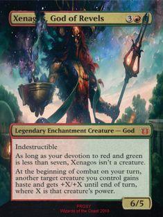 xenagos, god of revels, full art