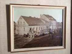 Old Steglitz in what is now Berlin Steglitz-Zehlendorf.  Sadly it doesn't look like this anymore!  You will have to go to Dresden instead!  There is a story behind some of the people in this picture.  Saved for another day!