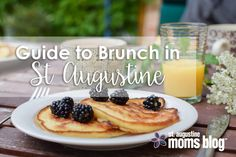 Start your day off right with our ultimate guide to the best places for breakfast and brunch in beautiful and historic St Augustine Florida. Road Trip Food, Snack Recipes, Snacks, Best Breakfast, Mom Blogs, The Good Place, Smoothie, Florida, Amelia Island