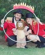 Lion Tamer Family Halloween Costume