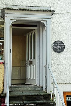 The Old Stamp House where William Wordsworth worked, Ambleside, Lake District, Cumbria