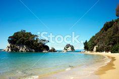Little Kaiteriteri Beach, Tasman Region, New Zealand Royalty Free Stock Photo Abel Tasman National Park, Seaside Towns, Image Now, New Zealand, National Parks, Royalty Free Stock Photos, Beach, Water, Outdoor