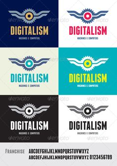 Digitalism Logo - Abstract Logo Templates