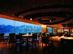 Famous for its innovative Japanese fusion cuisine, the NOBU InterContinental Hong Kong also offers a stunning view of Victoria Harbour.