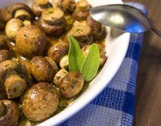Champignonköpfe Ober Und Unterhitze, Champions, Fett, Low Carb, Potatoes, Vegetables, Souffle Dish, Meat, Food Food