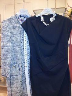 Il #Tubino bon ton lo indosserei con #giubbotto di #jeans