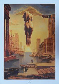 Salvador Dali (1904-1989) - La main de Dali retirant la Toison d'Or
