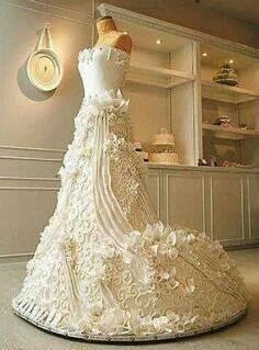 It is a wedding cake!  I can dream.:-)