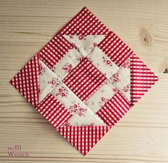 Quilt square patterns - Farmer's Wife QAL Week 3 – Quilt square patterns Quilt Square Patterns, Pattern Blocks, Square Quilt, Quilting Projects, Quilting Designs, Sewing Projects, Vinyl Projects, Mini Quilts, Baby Quilts