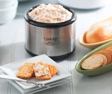 Hot Crab Dip from Crock Pot. This one's so easy and my favorite to put out at parties.